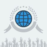 Symbol of peace Royalty Free Stock Photography