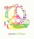 Symbol of Peace. Stock Photo