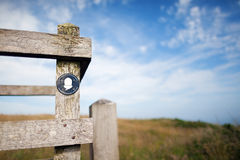 Symbol of Pembrokeshire Coast Path Royalty Free Stock Image