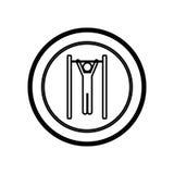 symbol person do exercise γυμναστική Στοκ φωτογραφία με δικαίωμα ελεύθερης χρήσης