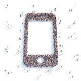 Symbol   phone. Stock Photography