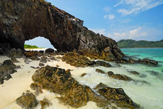 The symbol place of Kai island , Satun Stock Photo