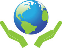 Symbol, the planet Earth. Royalty Free Stock Photo