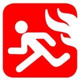 symbol pożoga Obraz Royalty Free
