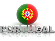 Symbol of Portugal Royalty Free Stock Images