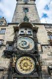 Symbol of Prague. Astronomical clock Royalty Free Stock Photo