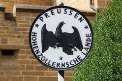 Symbol of Prussia historical emblems Royalty Free Stock Photography