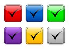 - symbol przycisk Obrazy Stock