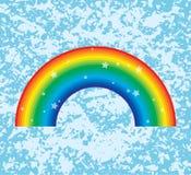 Symbol of rainbow, vector Stock Image