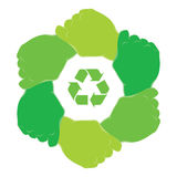 Symbol recycle Stock Photo