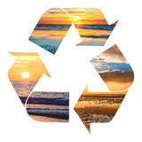 Symbol recycle Royalty Free Stock Images