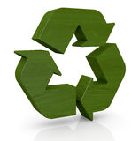 Symbol of recycling Royalty Free Stock Photography