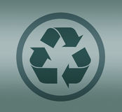 Symbol of recycling Royalty Free Stock Image