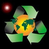symbol recyklingu zdjęcie stock
