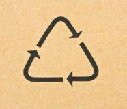 symbol recyklingu Obraz Royalty Free