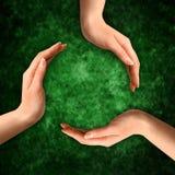 symbol recyklingu konceptualny Zdjęcie Stock