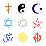 Symbol of religion Stock Image