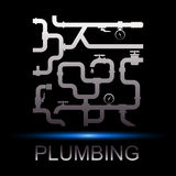 Symbol repair plumbing Stock Photo