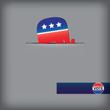 Symbol-Republikanische Partei Stockfoto