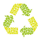 Symbol reuse, reduce and recycle icon. Illustraction design stock illustration