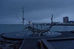 Symbol of Reykjavik Royalty Free Stock Photo