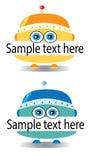 Symbol robot Royalty Free Stock Image