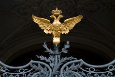 symbol rosyjskiego imperium. Zdjęcie Stock