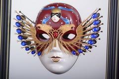 Symbol Rosyjskiej teatr narodowy nagrody Złota maska Zdjęcia Stock