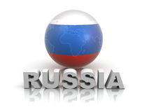 Symbol of Russia Royalty Free Stock Photos