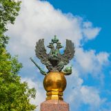 The symbol of the Russian Empire Royalty Free Stock Photography