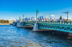 The symbol of Saint Petersburg Royalty Free Stock Photography