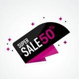 Symbol Sale och specialt erbjudande 50% av också vektor för coreldrawillustration Arkivfoton