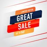 Symbol Sale och specialt erbjudande 50% av också vektor för coreldrawillustration Royaltyfri Fotografi