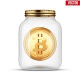 Symbol of save digital money Stock Photos