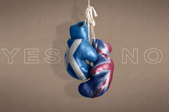 Symbol Scottish independence referendum, 2014 Royalty Free Stock Image