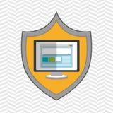 symbol screen computer Royalty Free Stock Image