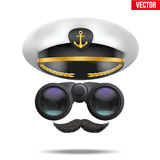Symbol of the sea captain Royalty Free Stock Images