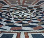 Symbol series - cristian mandala. Cristian mandala on christian church - Riva del Garda Italy royalty free stock images