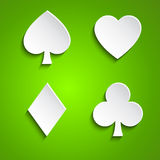 Symbol set of playing cards Stock Photo