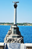 Symbol of Sevastopol Royalty Free Stock Images