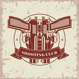 Symbol shooting club Stock Photography