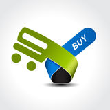 Symbol of shopping cart, trolley, item, button Stock Photo