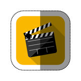 Symbol short film icon. Image,  illustration design Stock Photography