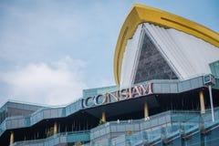 SYMBOL Siam, shoppinggallerian i Bangkok, Thailand fotografering för bildbyråer