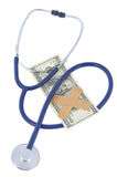 Symbol of sick world economy Stock Image