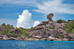 Symbol of Similan Stock Image