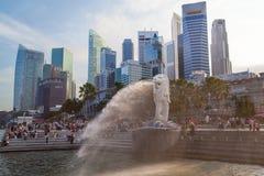 Symbol of Singapore Stock Images