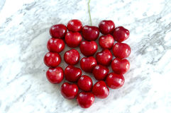 Symbol single cherry Stock Image