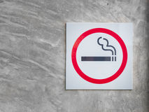 Symbol of smoking zone Stock Photography