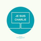 Symbol of solidarity in Paris Stock Image
